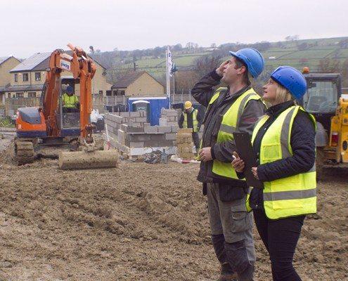 Construction site image, Craven Safety Services