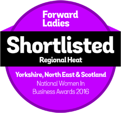 Forward Ladies Awards Badge