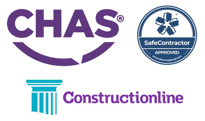 SSIP accreditations CHAS, Constructionline, SafeContractor